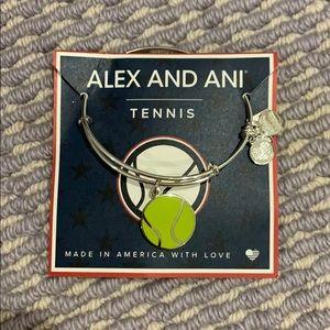 Alex and Ani Tennis Charm bracelet !!
